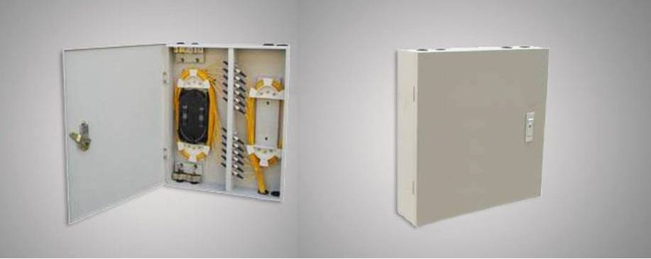 FTB Series Fiber Termination Box (wall mount with lock)