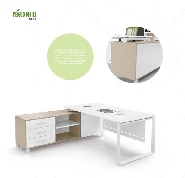 wooden desk and office table,executive office table specifications(PG-S16B-20A)