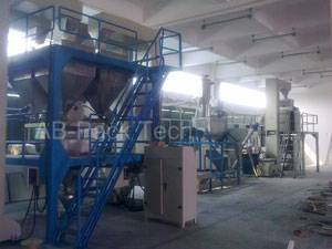 Chemicals Formulating Packing Line fertilizer packaging process fertilizer packing equipment