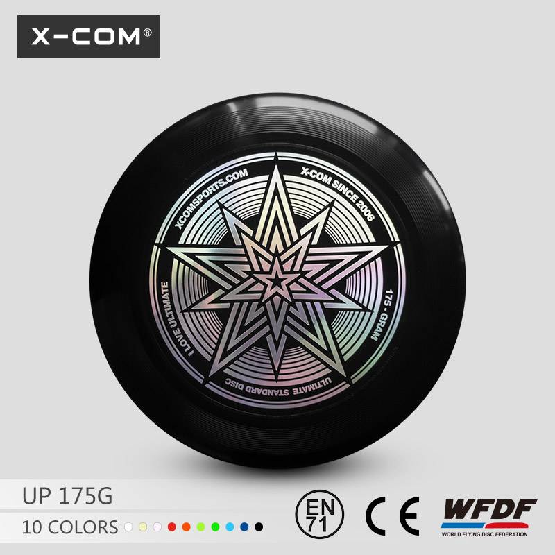 X-COM wholesale xcom 175g ultimate frisbee flying games customed toys