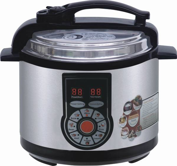 Model#YBW-Q.B-1-80 Popular style Electric pressure canner 4L
