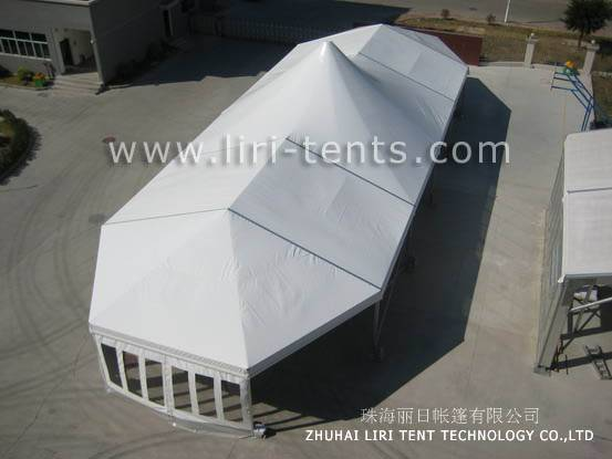 Outdoor Waterproof PVC High Peak Tent For Party Event Marquee