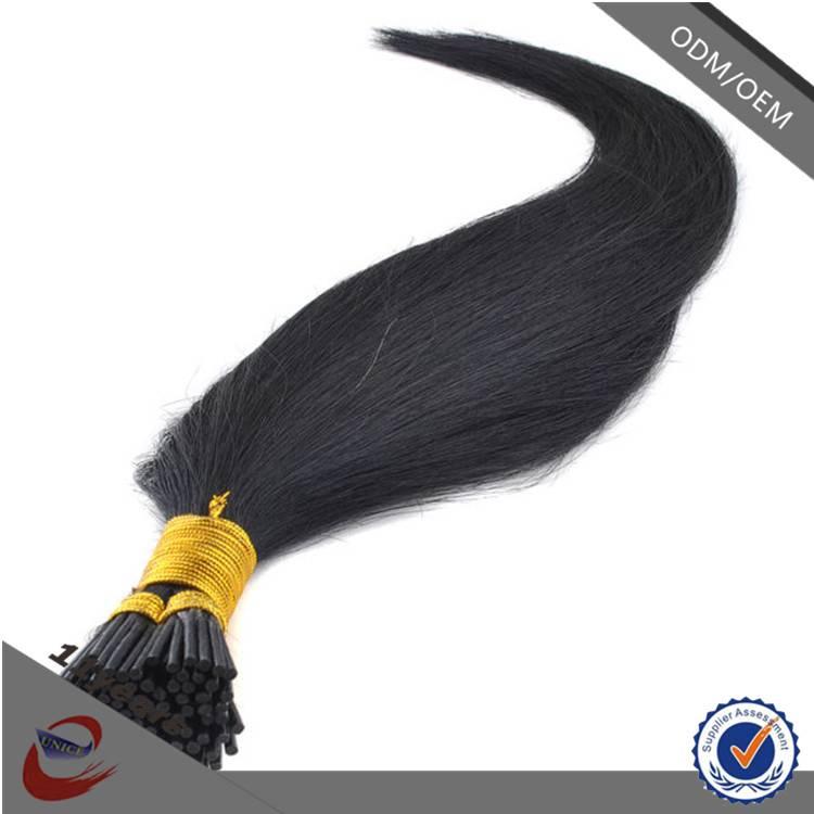 2015 Hot Sale 1B# 2# 6A Grade Best I Tip European Virgin Hair Extension