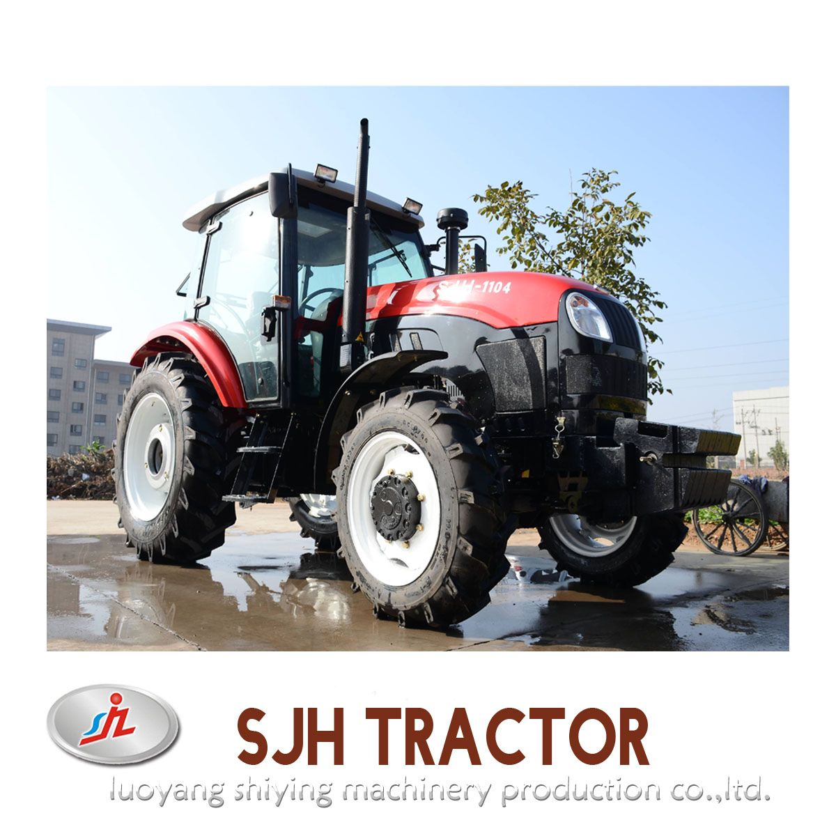 110hp Chinese Agriculture Tractor SJH1104 Farm Tractor