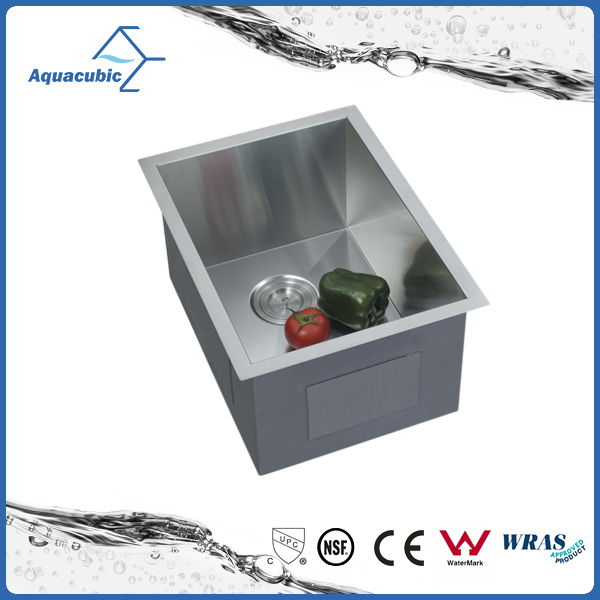 Undermount Stainless steel CUPC handmade kitchen sink kitchen single bowl (ACS1520A1 )