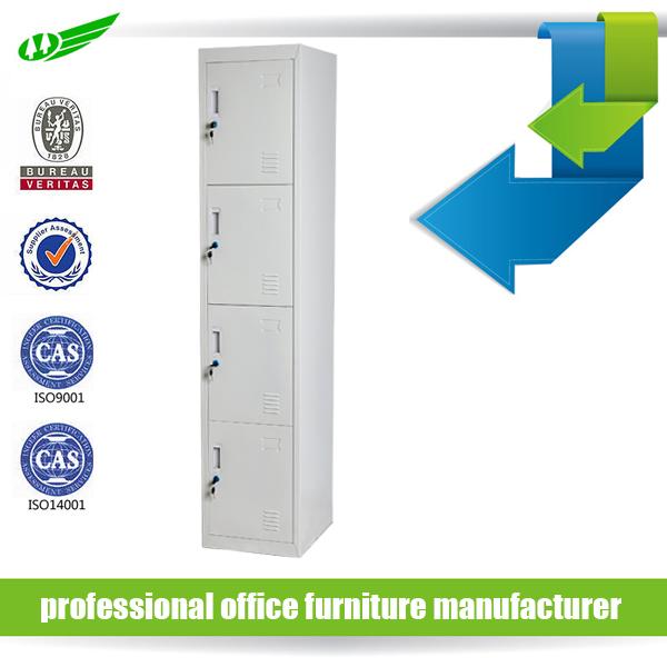 KD Structure Customized Design Metal Locker Wardrobe