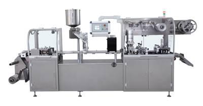 DPP-250Z Blister packing machine (Alu-PVC/Alu-Alu)
