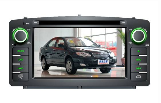BYD F3 Car DVD GPS System car gps in Car DVD Player Made in China