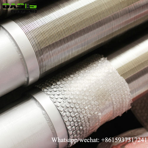 Borehole Drilling Reinforced Pipe Based Well Screens