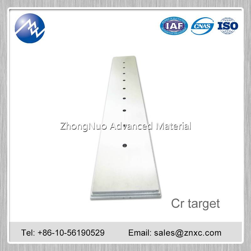 Manufacture High purity Cr target