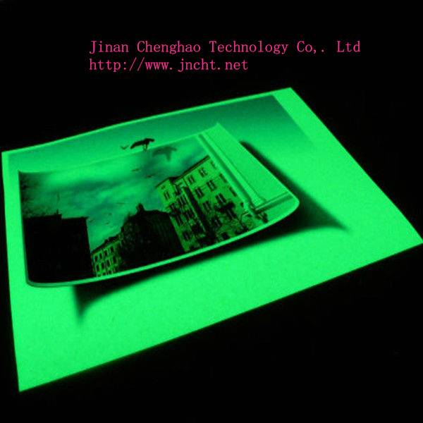 photoluminescent paper/glow in the dark paper