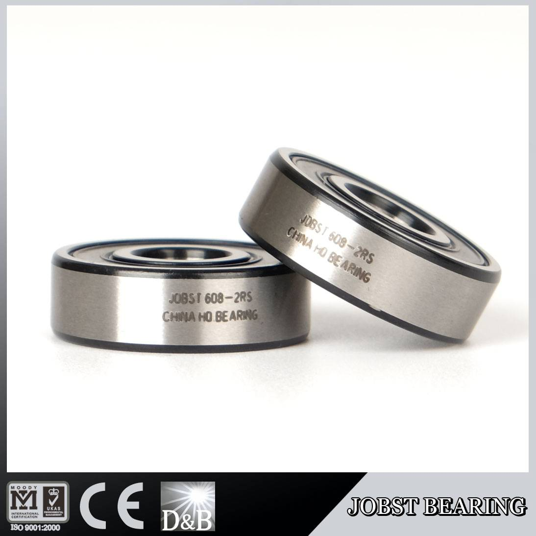 608-2RS DEEP GROOVE BALL BEARING