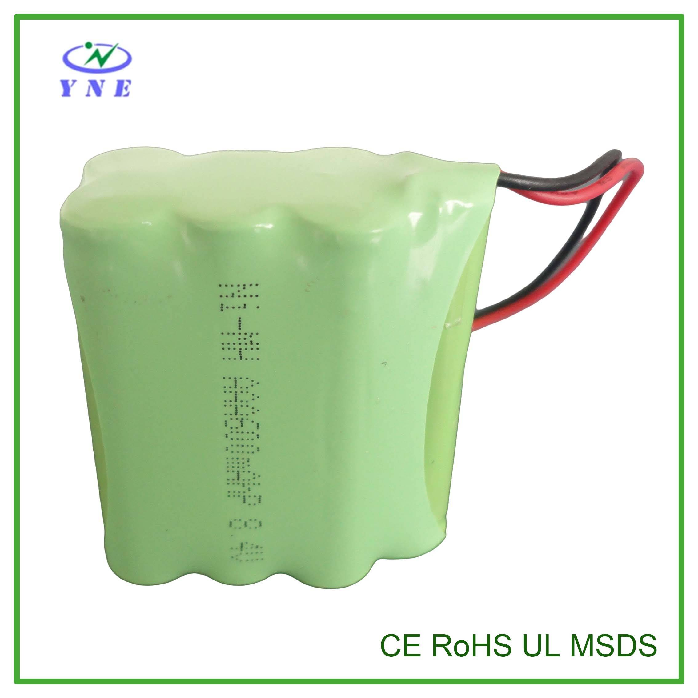AAA 8.4V 600mah Ni-MH Rechargeable Battery