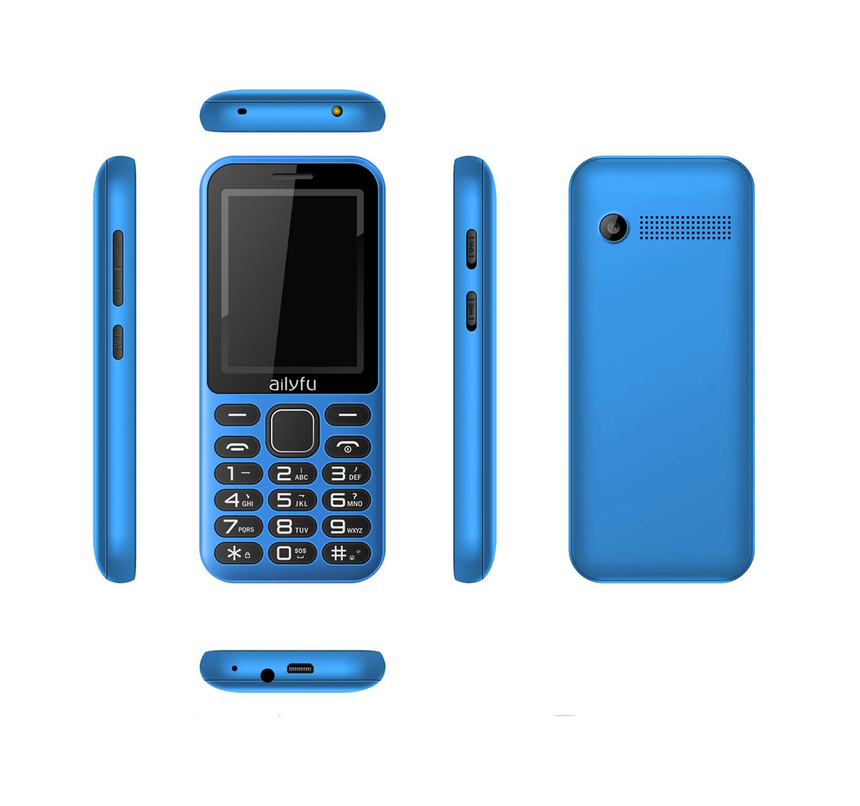 Senior Phones, 2.4-inch Screen Big Battery Long Standby
