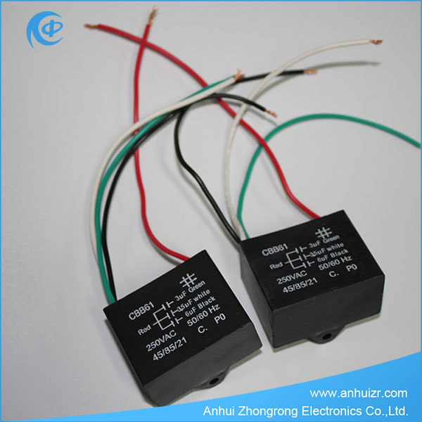 Electric Fan Capacitor Ceiling Fan Capacitor CBB61