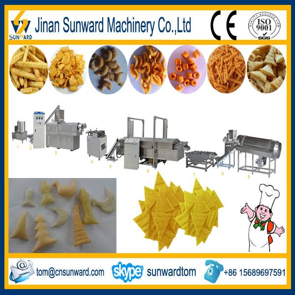 CE Certificated Fried Snack Food Making Machine