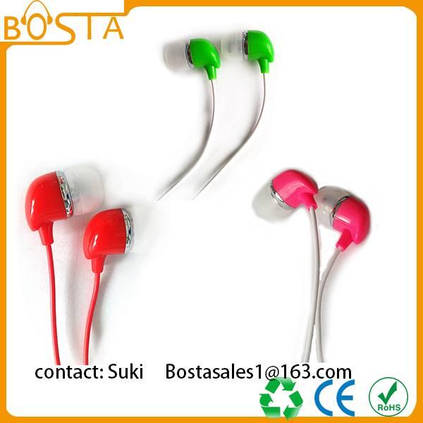 Fancy fashion earphone / earbuds on sale