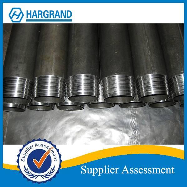 Wire-line core drill rod