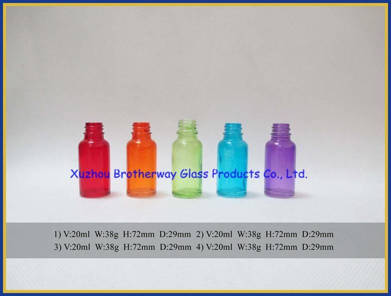 color painting round glass eliquild bottle