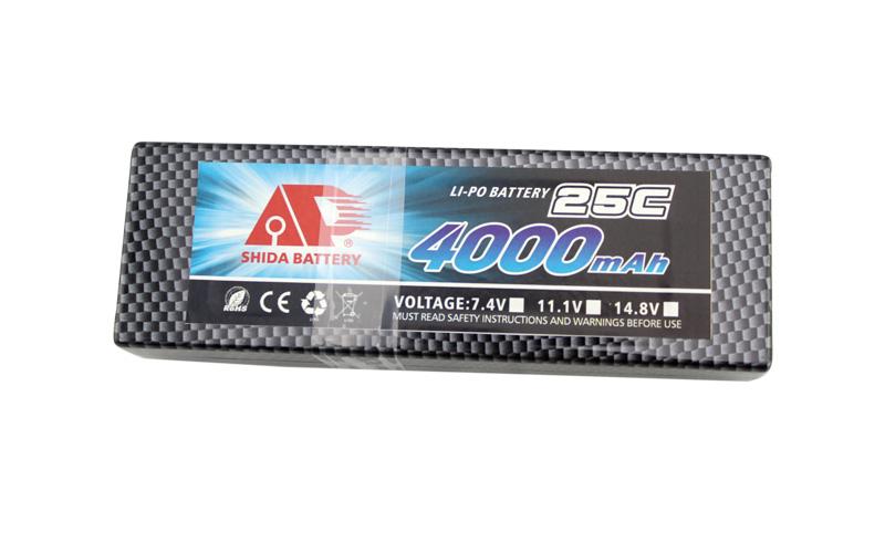 4000mAh 25C lithium battery for RC car