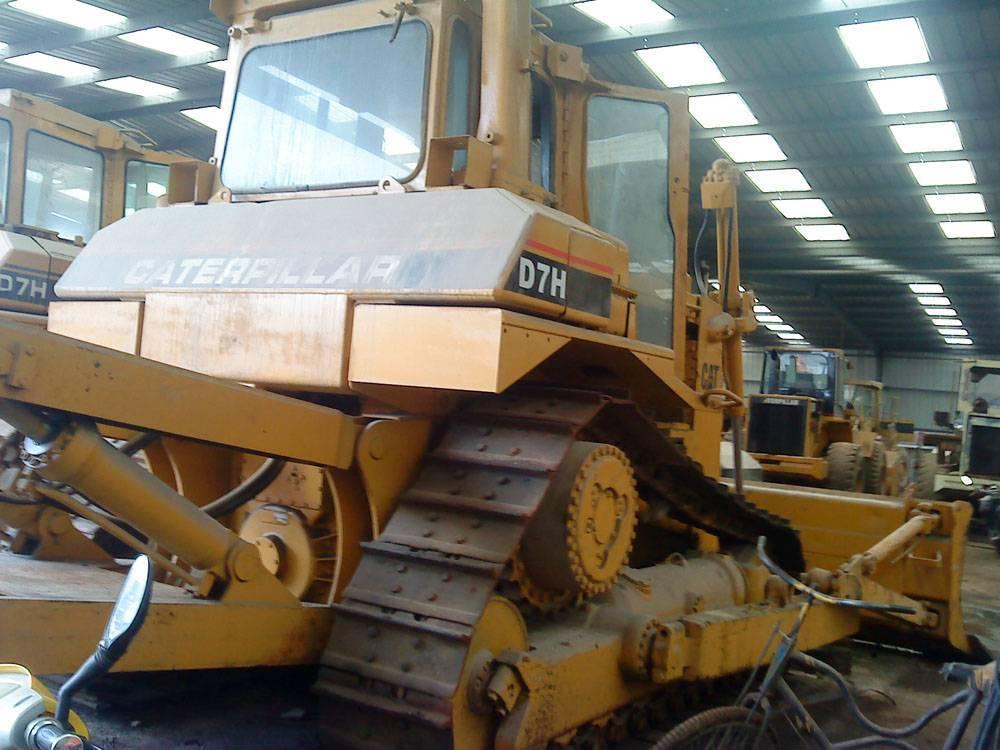 Used D7H CAT bulldozer, used crawler dozer, CAT dozer, CAT D7H bulldozer