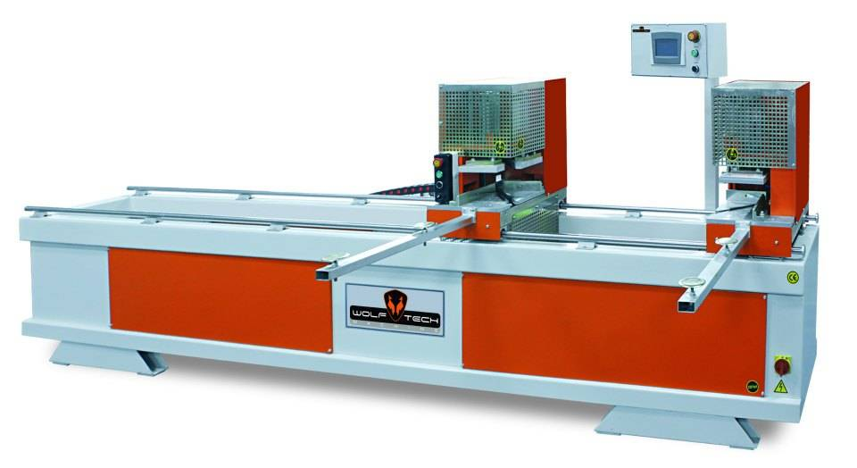 Automatic Pvc Double Head Welding Machine