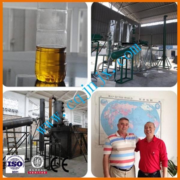 JNC-5 Waste black Oil Refining Plant