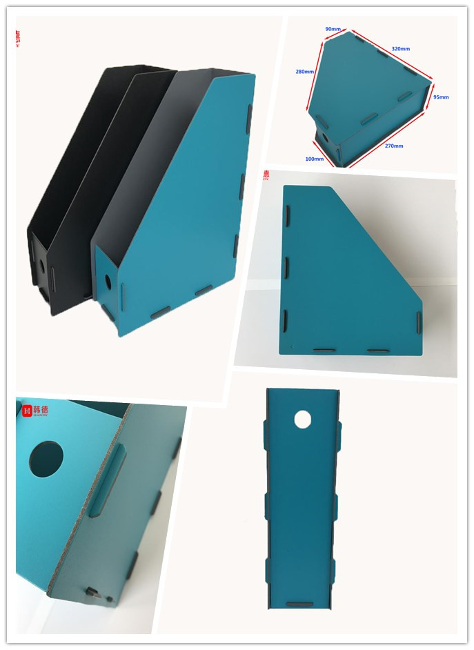 2017 New Design PP Foam File Folder Office Document Fashionable Vertical Magazine File Folder