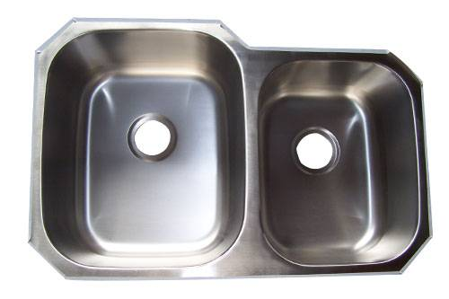 Double bowls undermount Stainless Steel Sink