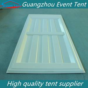New designs of compound wall abs hard wall pvc wall for tent
