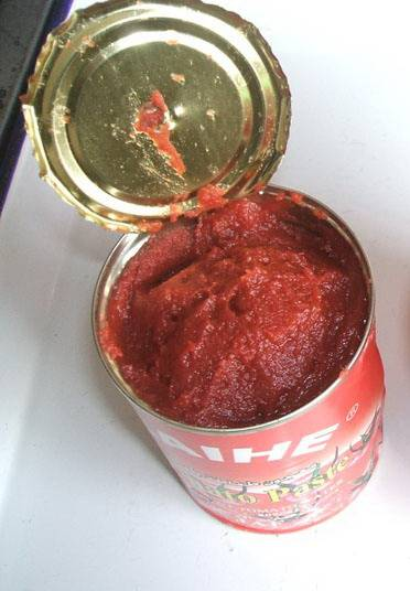 Canned Tomato Paste 24x400g/ctn