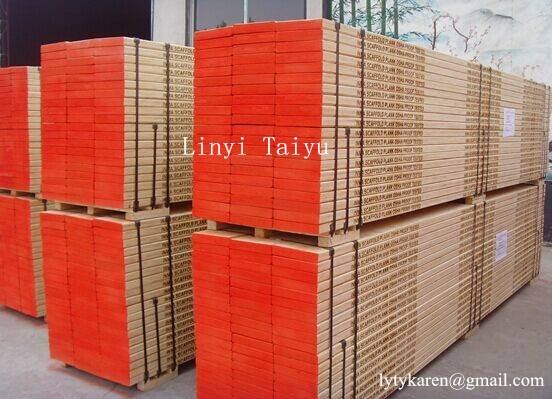 LVL Scaffolding Wooden Board for Middle East Market