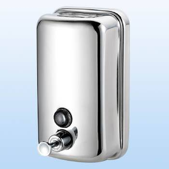 sell--Stainless steel Soap dispenser (Round surface)