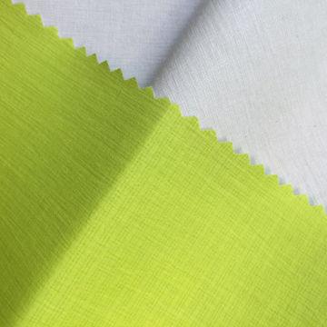20D plaid nylon taffeta PU transfer complex knitted fabric