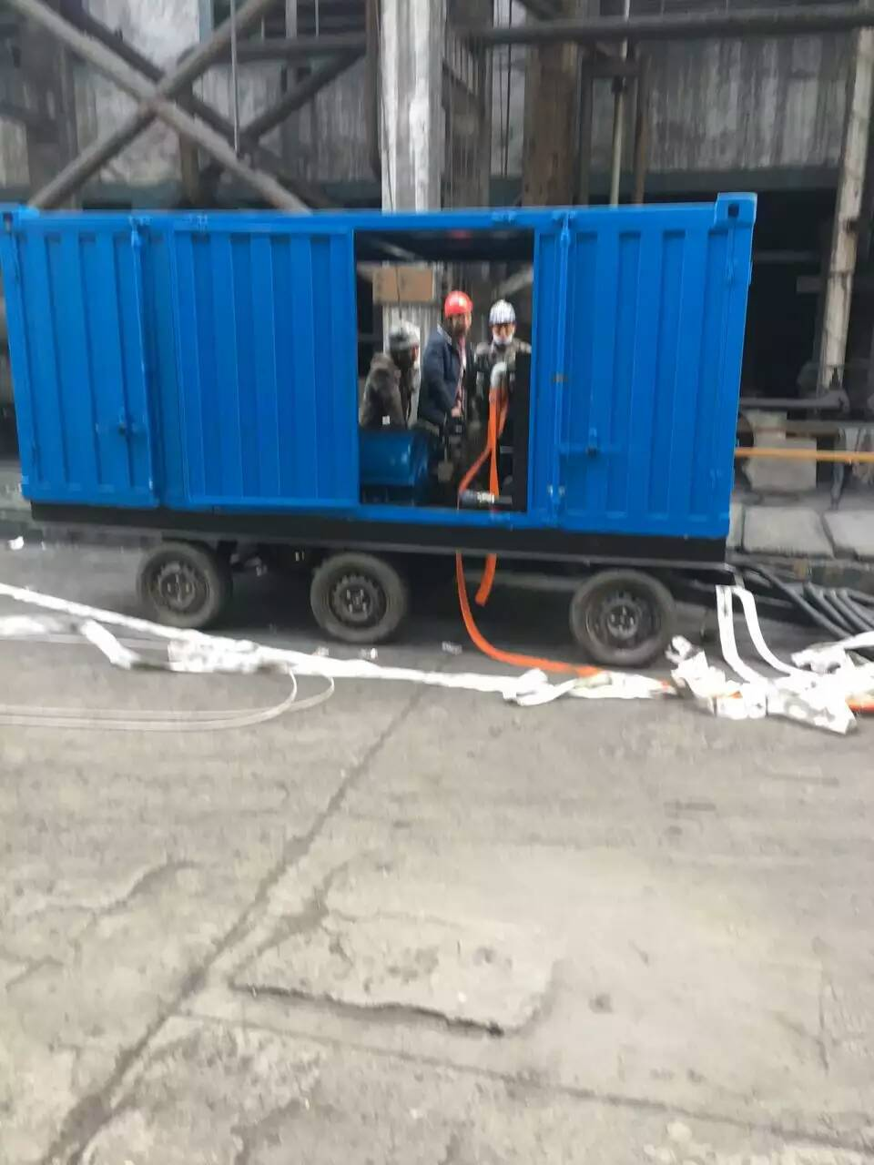 High Pressure Cold Water Jetting Cleaning Equipment