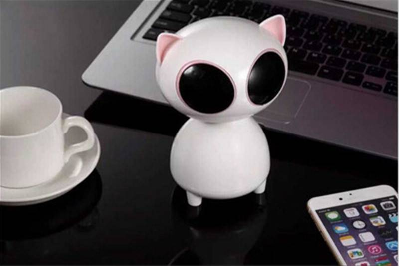 Latest Designed Speaker for PC USB Subwoofers Mini Cat Speaker Super Cute Speaker with Cat Design