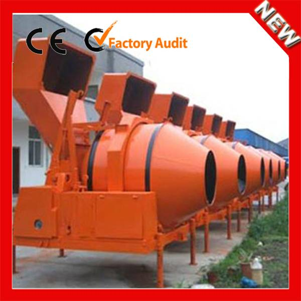 Widely used portable JZR350 mini diesel engine concrete mixer machine price in Malaysia