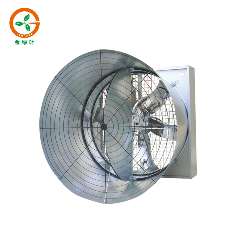 Large wind capacity at Chicken farm Ventilation fans
