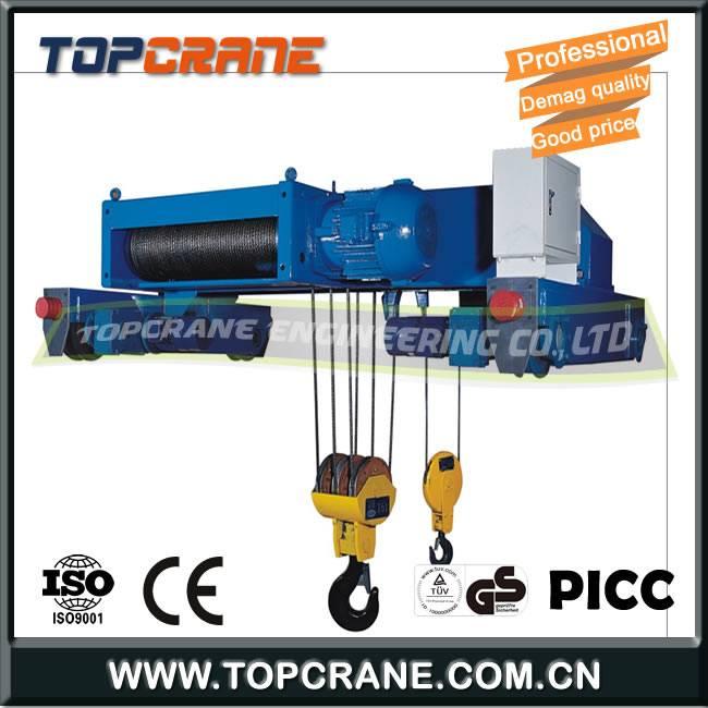 Electric Wire Rope Double Girder Hoist 20ton 30ton 40ton 60ton