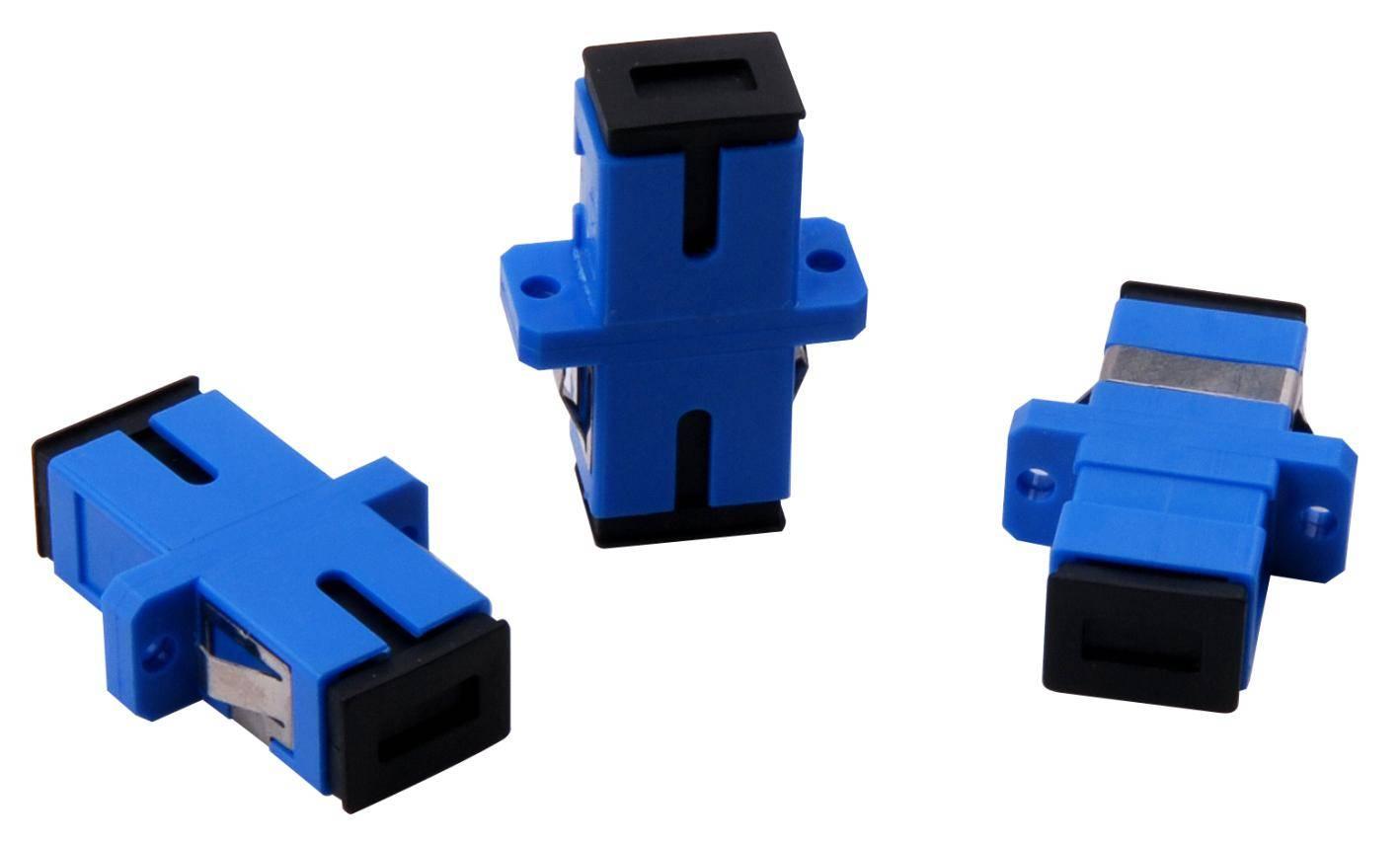 Fiber optic adapter SC/PC SX