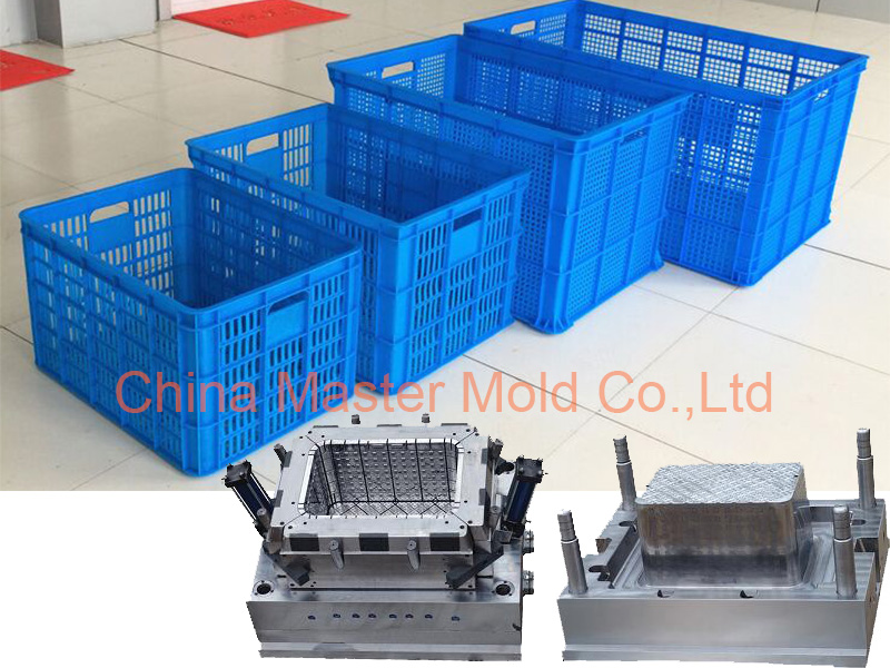 OEM professional design plastic crate mould