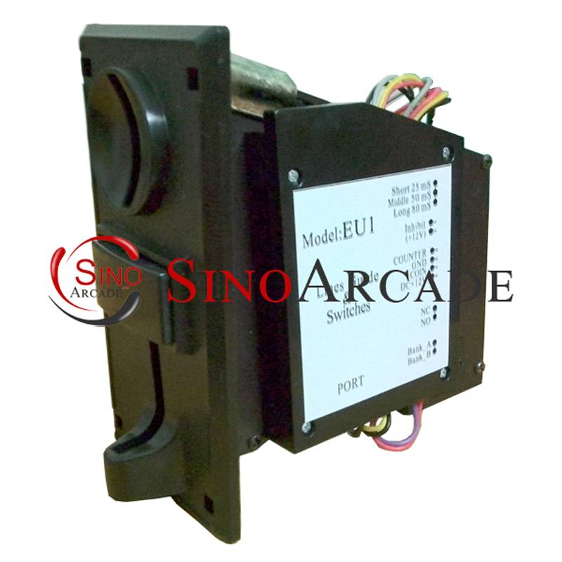 Latest and Hottest EU1 Multi-Coin Acceptor Coin Selector for Arcade Vending Machine, easily programm