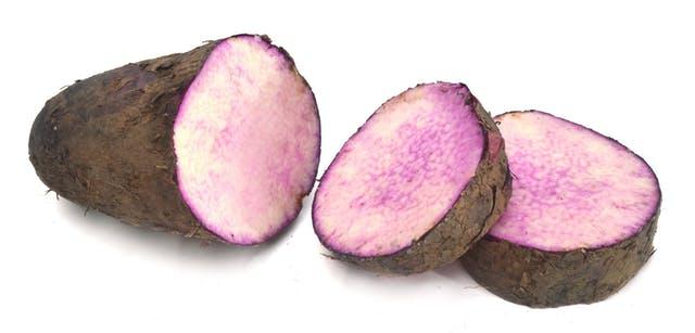 Frozen White/ Purple Yam