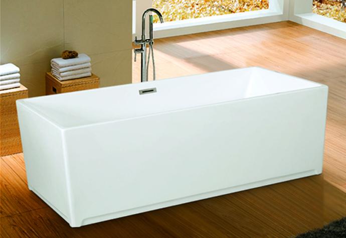 cUPC freestanding acrylic soaking bathtub, modern bathtub,ideal standard bathtub