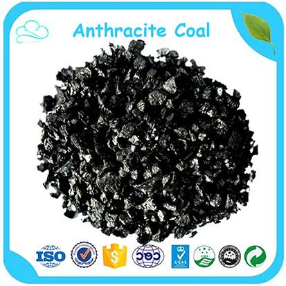 Low Price 85% High Carbon 1-5mm Anthracite Coal Filter Media for Water Treatment