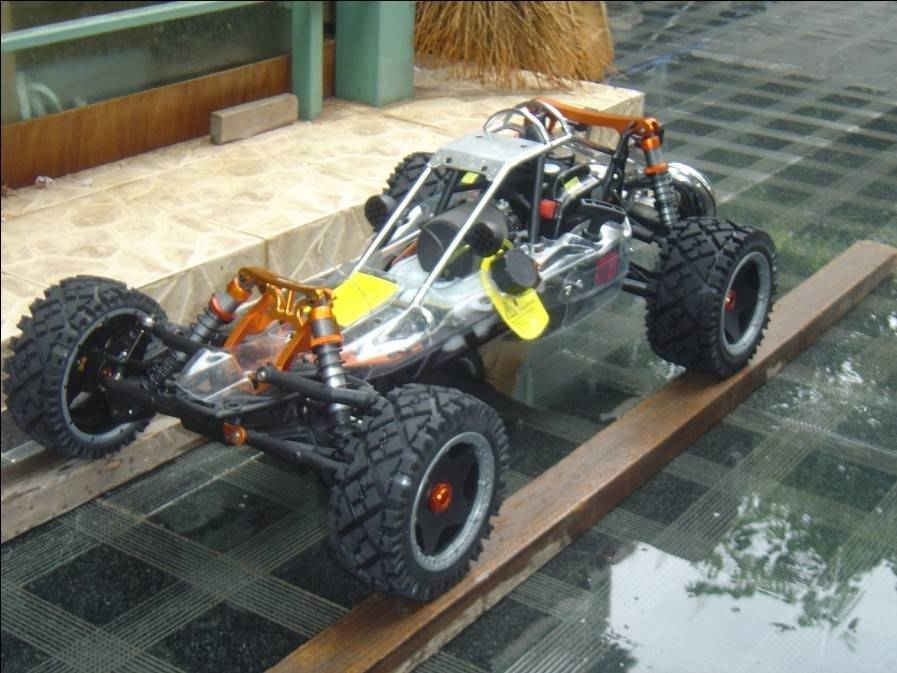 Hot  Sale Updated Baja 5b SS KM 29cc R/C  Car