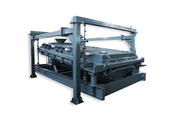 Fine screening machine