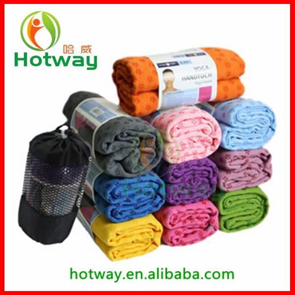 Microfiber Quick Dry 183*63cm Eco Friendly Yoga Towel For Yoga