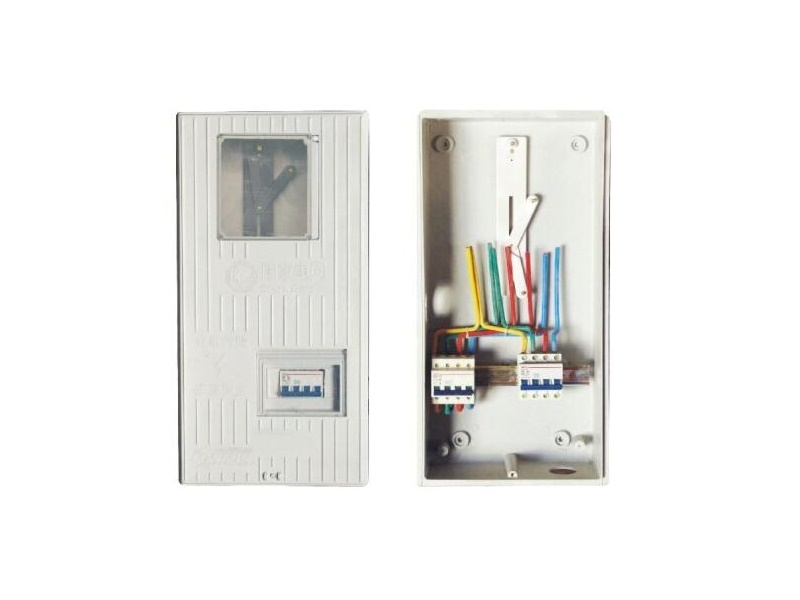 320x620x140mm smc bmc insulation meter box with out-going switch
