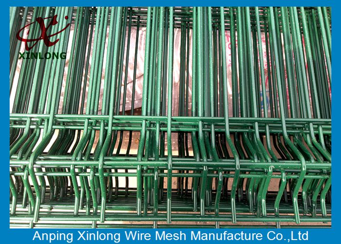 Stable Powders Sprayed Coating 4.0mm Valuable 3D Wire Mesh Fence
